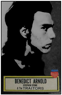 Trading Card Portrait of Stephen Stink - CLICK FOR NEXT IMAGE
